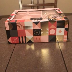 Other - Pink and White Polka dot Tea Set